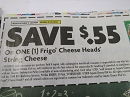 15 Coupons $.55/1 Frigo Cheese Heads String Cheese 2/15/2019