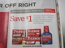 15 Coupons $1/1 Tylenol 2/6/2019