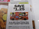 15 Coupons $1.25/1 Tyson Anytizers Snack or Chicken Strips 3/9/2019