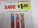 15 Coupons $1.50/1 Colgate Adult or Battery Powered Toothbrush 2/2/2019