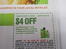 15 Coupons $4/2 Garnier Fructis Shampoo Conditioner Treatment or Styling 2/23/2019