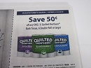 15 Coupons $.50/1 Quilted Northern Bath Tissue 6 Double roll 3/10/2019