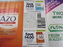 15 Coupons $4/1 Azo Complete Feminine Balance Daily Probiotic + $4/1 Azo Bladder Control with Go Less 5/14/2019