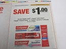 15 Coupons $1/1 Colgate Total, Optic White, Enamel Health or Sensitive Toothpaste 2/16/2019