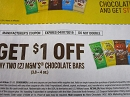 15 Coupons $1/2 M&M's Chocolate Bars 3.8-4oz DND 4/7/2019