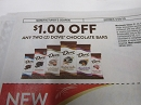 15 Coupons $1/2 Dove Chocolate Bars 4/28/2019 DND