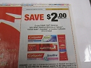 15 Coupons $2/1 Colgate Total Advanced, Optic White Advanced Whitening or Platinum, Enamel Health, Essential or Sensitive Toothpaste 3/30/2019