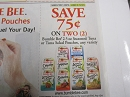 15 Coupons $.75/2 Bumble Bee 2.5oz Seasoned Tuna or Tuna salad Pouches 4/19/2019