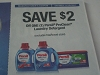 15 Coupons $2/1 Persil ProClean Laundry Detergent 11/19/2017