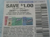 15 Coupons $1/1 Zest or Coast Body Wash or Shower Gel or Bar Soap 6bar DND 11/19/2017