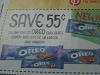 15 Coupons $.55/1 OREO CHOCOLATE CANDY BAR 1.44OZ 12/16/2017