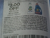 15 Coupons $2/2 All Products 12/30/2017