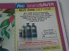 15 Coupons Buy 1 Get 1 FREE Herbal Essences Bio Renew Product 12/9/2017