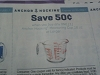 15 Coupons $.50/1 Anchor Hocking Measuring Cup 16oz+ 12/31/2017