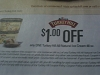 15 Coupons $1/1 Turkey Hill All Natural Ice Cream 48oz 10/14/2017