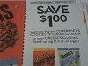 15 Coupons $1/1 Hershey's Cookies n Crème Crunchers or 1 Reese's Crunchers Stand Up Bag 6.5oz 10/8/2017