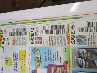 15 Coupons $2/1 Citracal 70ct 10/28/2018 + $2/1 Flintstones or One a Day Kids 11/17/2018 + $5/1 Dr Scholl's Pain Relief 10/21/2018