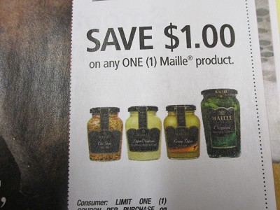 15 Coupons $1/1 Maille Product 5/11/2019