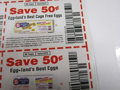 15 Coupons $.50/1 Egg Lands Best Cage Free Eggs + $.50/1 Egg Lands Best Eggs 8/5/2019