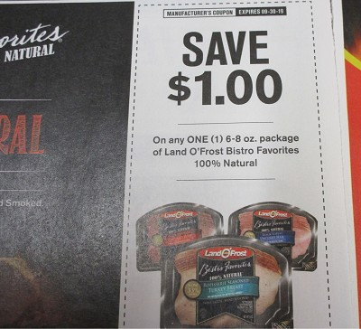 15 Coupons $1/1 Land o Frost Bistro Favorites 100% Natural 8/30/2019