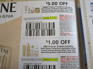 15 Coupons $5/3 Pantene Products + $1/1 Pantene Product 1/11/2020