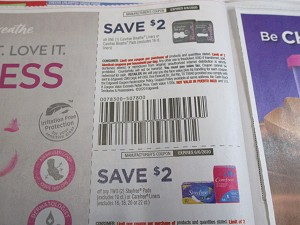 15 Coupons $2/1 Carefree Breathe Liners or Pads + $2/2 Stayfree Pads or Carefree Liners 6/6/2020