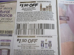 15 Coupons $1.50/1 Gold Bond Radiance Renewal + $1.50/1 Gold Bond Neck & Chest Strength & Resilience 9/27/2020