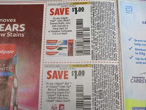 15 Coupons $1/1 Colgate Total Optic White Enamel Health Toothpaste + $1/1 Colgate 360 Manual Toothpaste DND 9/12/2020