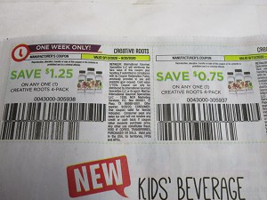 15 Coupons $1.25/1 Creative Roots 4pk 9/20/2020 + $.75/1 Creative Roots 4pk 11/8/2020