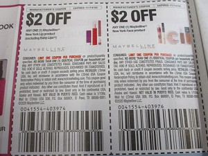 15 Coupons $2/1 Maybelline New York Lip + $2/1 Maybeline NY Face 11/14/2020