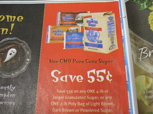 15 Coupons $.55/1 4lbs+ Imperial Sugar Granulated Sugar DND 11/22/2020