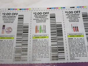 15 Coupons $2/1 Covergirl Face + $2/1 Covergirl Eye + $1/1 Covergirl Lip 11/28/2020