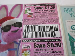 15 Coupons $1.25/1 Energizer Batteries + $.50/1 Energizer Hearing Aid Batteries 1/2/2021