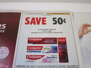 15 Coupons $.50/1 Colgate Toothpaste 3.0oz 12/19/2020 DND
