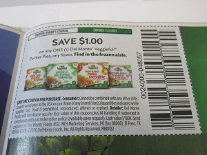 15 Coupons $1/1 Del Monte Veggieful  Pocket Pies 3/3/2021