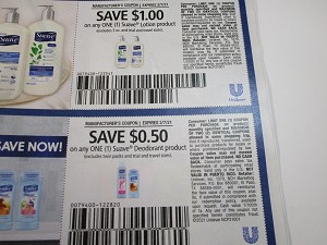 15 Coupons $1/1 Suave Lotion + $.50/1 Suave Deodorant 2/7/2021