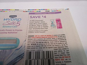15 Coupons $4/1 Skintimate Schick Intuition, Hydro Silk 5 5/15/2021